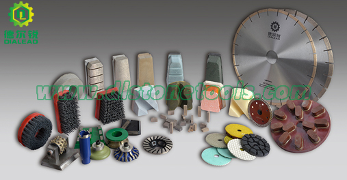 stone cutting and polishing tools